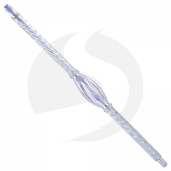Caesar Glasmundstück Tornado 50cm - Shiny Clear
