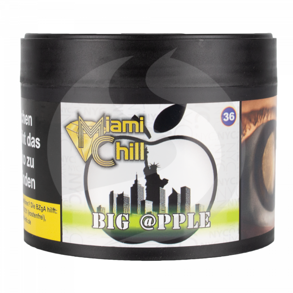 Miami Chill Tobacco 200g - Big @pple (36)