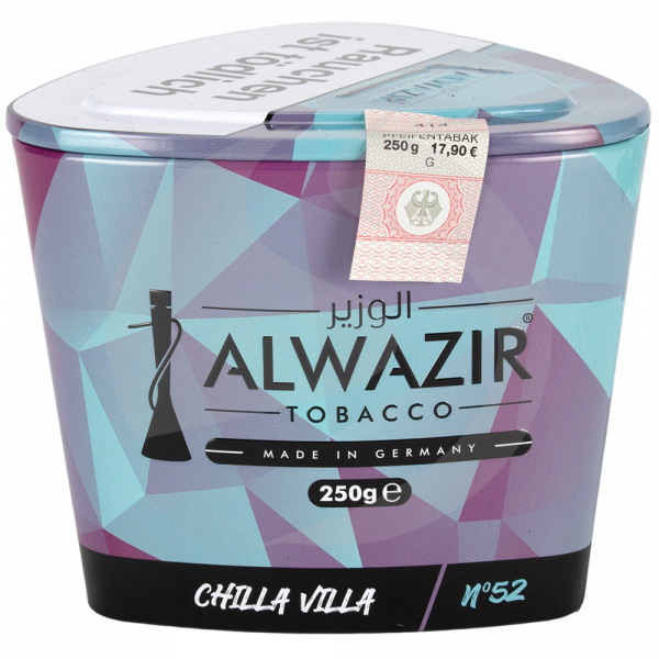 Al Wazir Tobacco 250g - No. 52 Chilla Villa