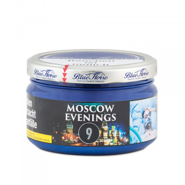 Blue Horse Tobacco 200g - Moscow Evenings (9)