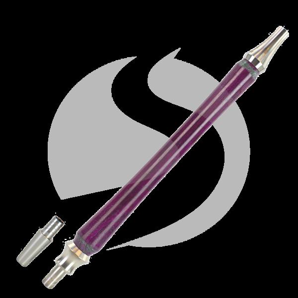 Cyborg Hookah Mundstück Wood Edition - Timber Purple