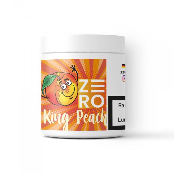 Zero Tabakersatz Nikotinfrei 200g - King Peach