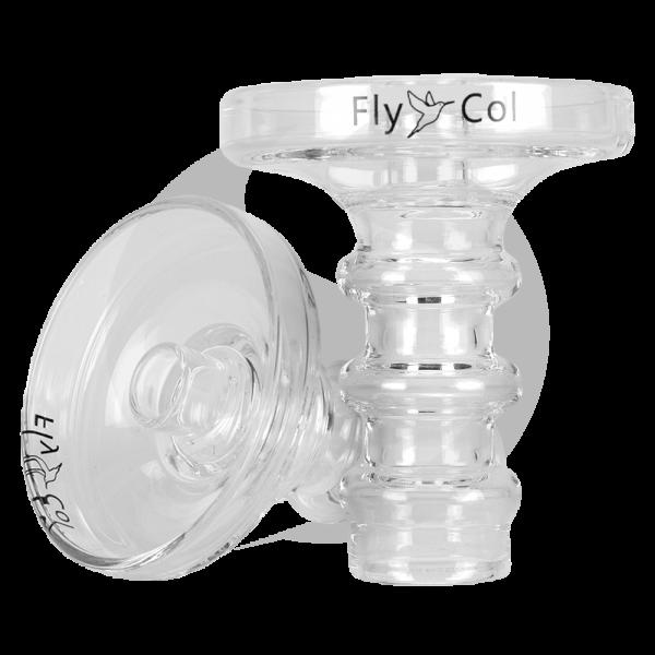 FlyCol Shisha Glas Phunnel aus Borosilikatglas
