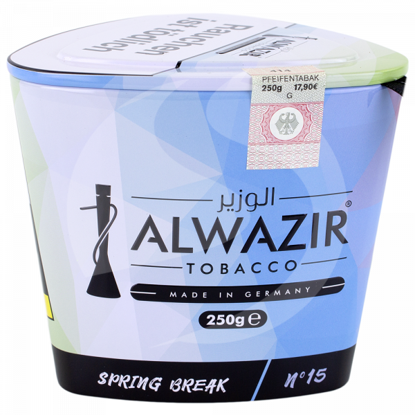 Al Wazir Tobacco 250g - No. 15 Spring Break