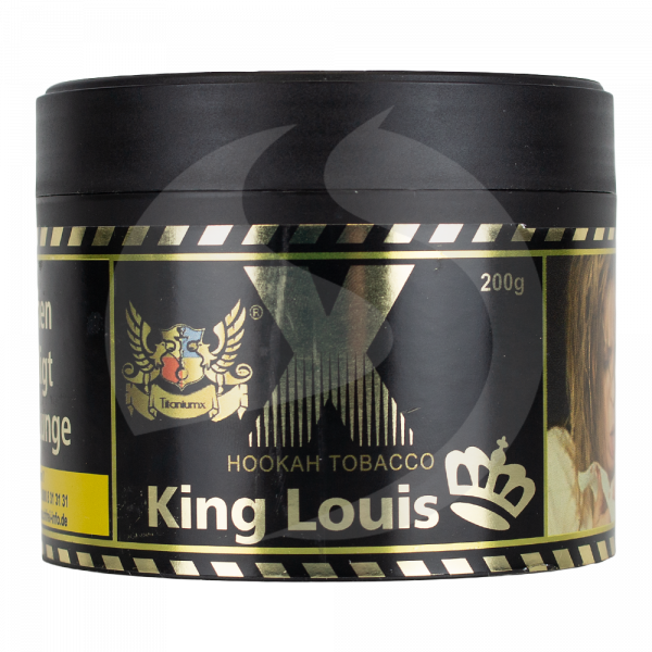TitaniumX Hookah Tobacco 200g - King Louis