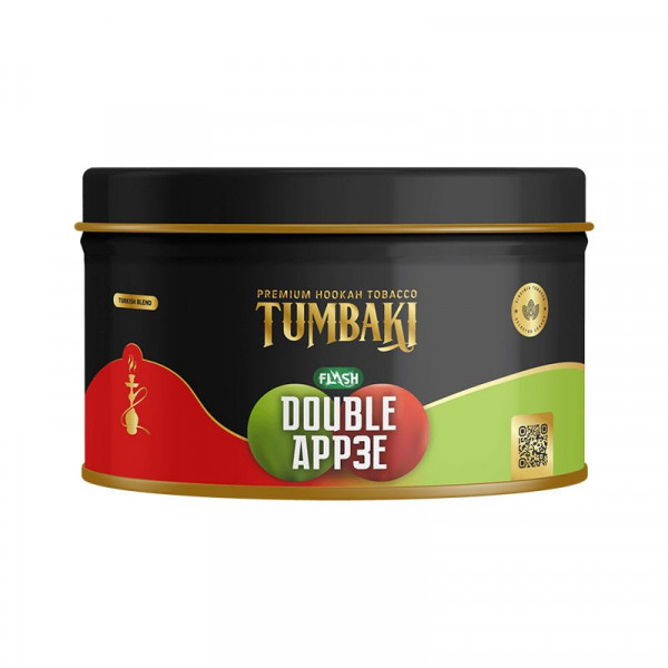 Tumbaki Tobacco 200g - Double App3e Flash