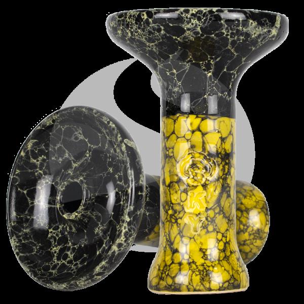 Sky Hookah Medium Phunnel - Mosaik Yellow
