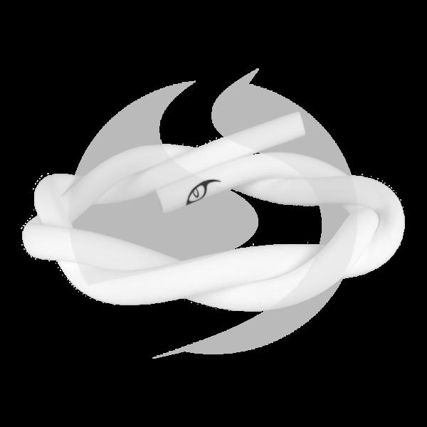 Aryf Hookah Silikonschlauch - Weiß