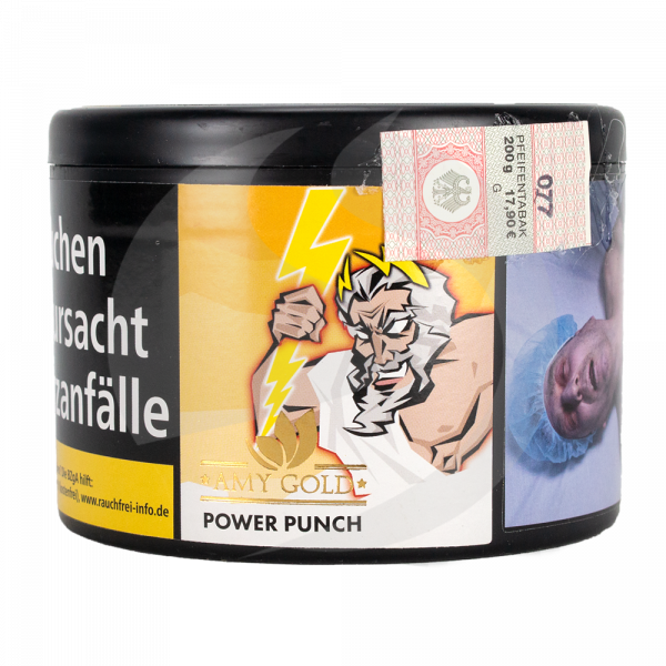 Amy Gold Tobacco 200g - Power Punch