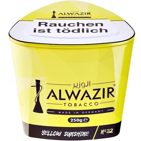 Al Wazir Tobacco 250g - No. 32 Yellow Sunshine