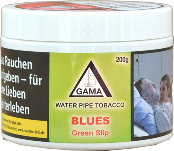 Gama Tobacco 200g - Blues (Green Slip)