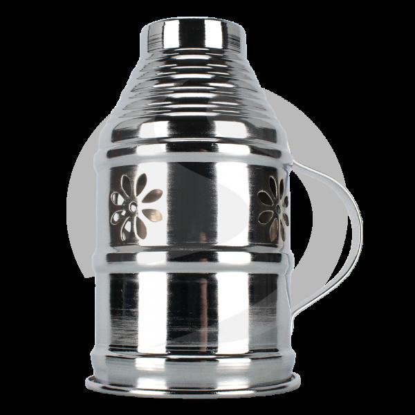 Diamond Hookah Windschutz Silber
