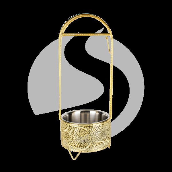 Cyborg Hookah Kohlebehälter - Circle Gold Klein