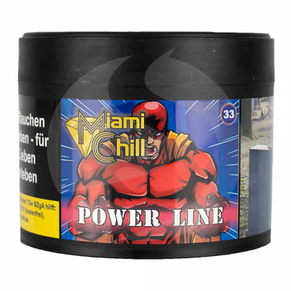 Miami Chill Tobacco 200g - Power Line (33)
