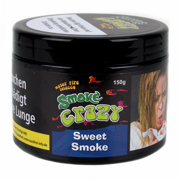 Smoke Crazy Tobacco 150g - Sweet Smoke