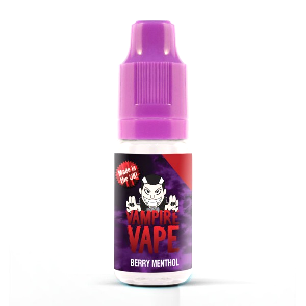Vampire Vape E-Liquid 10ml 0mg - Berry Menthol