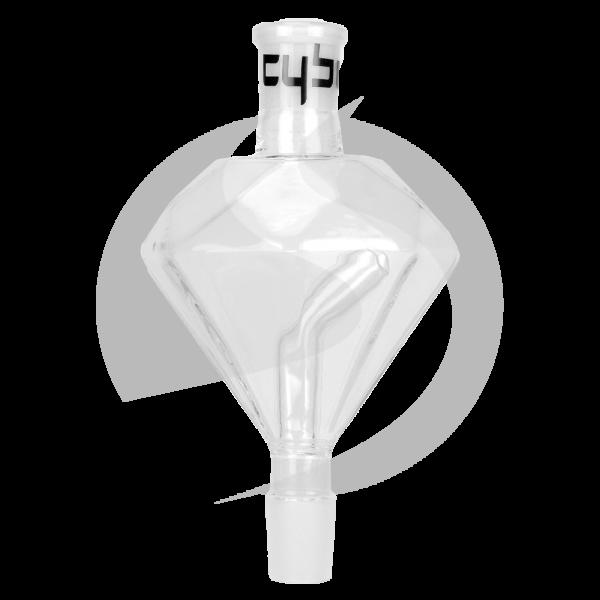 Cyborg Hookah Molassefänger 18/8 Schliff - Diamond