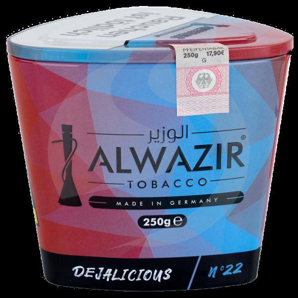 Al Wazir Tobacco 250g - No. 22 Dejalicious