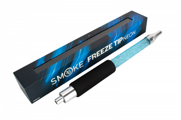 Smoke2u NEON Freeze Tip - Neonblau/Silver