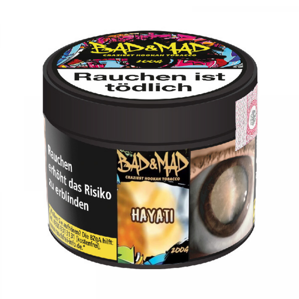 Bad & Mad Tobacco 200g - Hayati