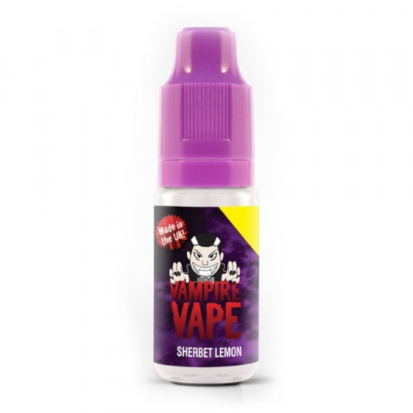 Vampire Vape E-Liquid 10ml 0mg - Sherbert Lemon