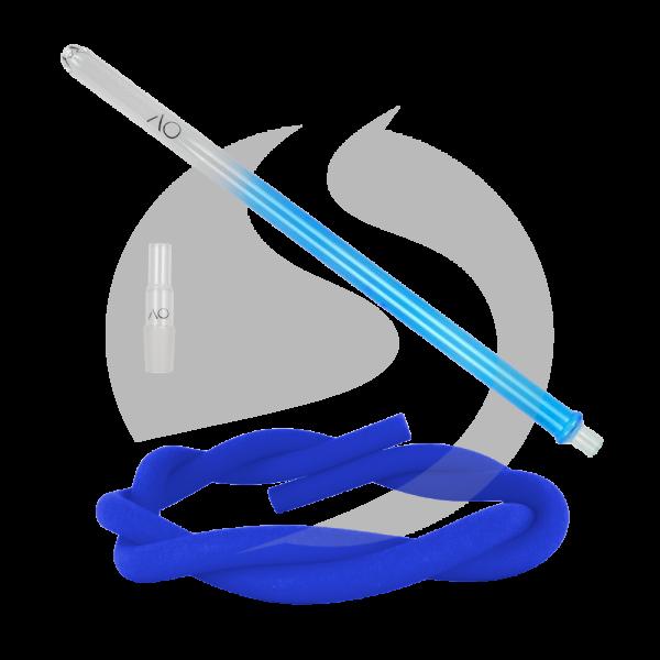 AO Hookah Glasmundstück SET - Round Blue