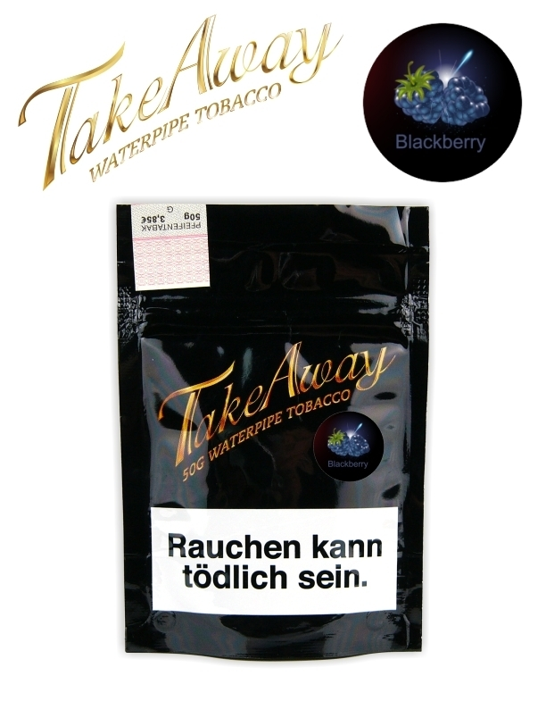 TakeAway Tabak 50g - Blackberry