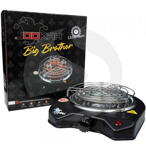 Jookah Elektrische Kohleanzünder Big Brother mit Schutzgitter 1500W
