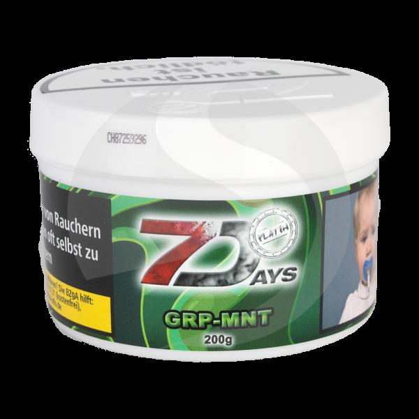 7 Days Tabak Platin 200g - GRP-MNT