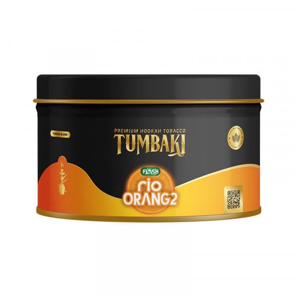 Tumbaki Tobacco 200g - Rio Orange Flash