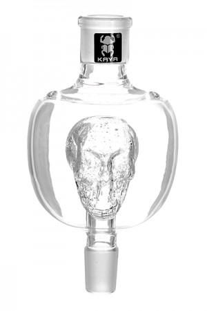 Kaya Glas-Schaft und Melassefänger 18.8 - Glow Skull