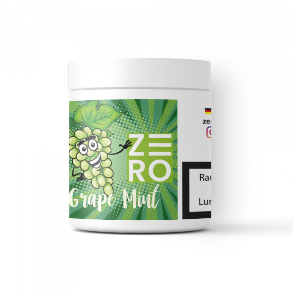 Zero Tabakersatz Nikotinfrei 200g - Grape Mint