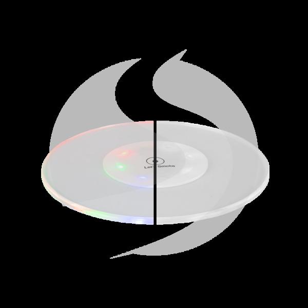Let's Smoke Shisha LED Untersetzer - Circle