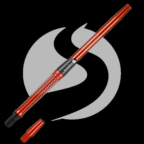 Cyborg Hookah Mundstück Metalic Spirale - Red