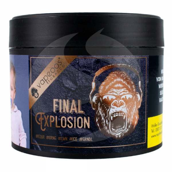 Vapeoos Tobacco 200g - Final Explosion