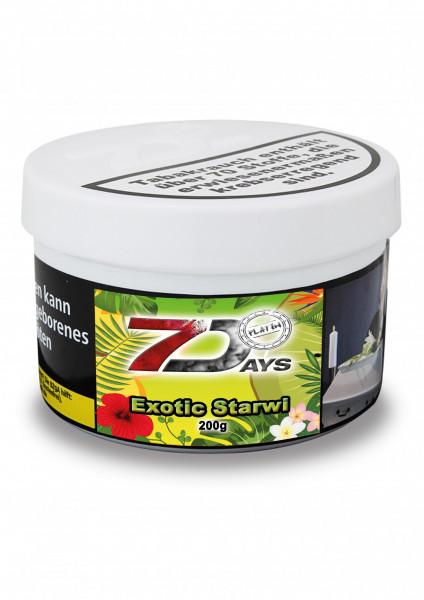 7 Days Tabak Platin 200g - Exotic Starwi
