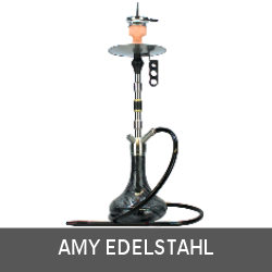 Amy Edelstahl Shisha