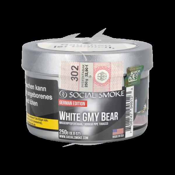 Social Smoke 250g - White Gmy Bear