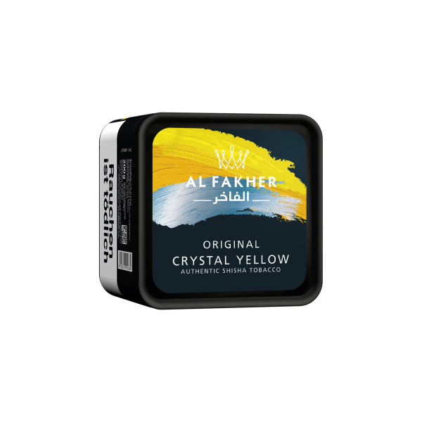 Al Fakher Tobacco 1Kg - Crystal Yellow