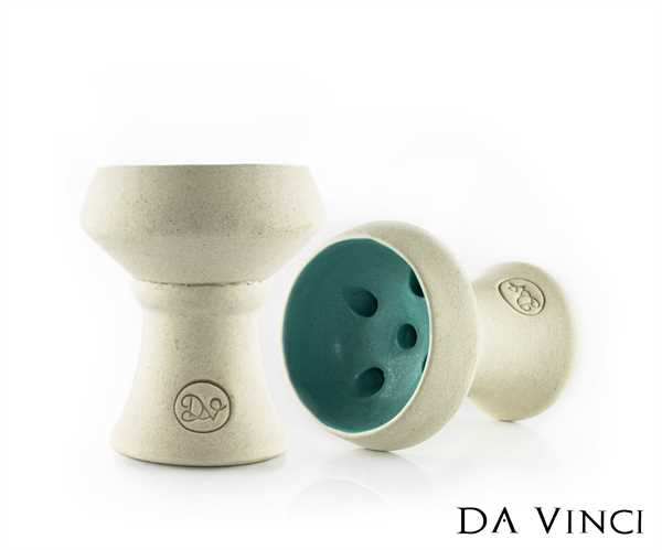 Da Vinci - Steinkopf 2.0 White/Turquise