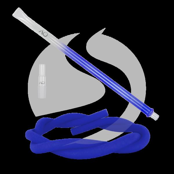 AO Hookah Glasmundstück SET - Flat Blue