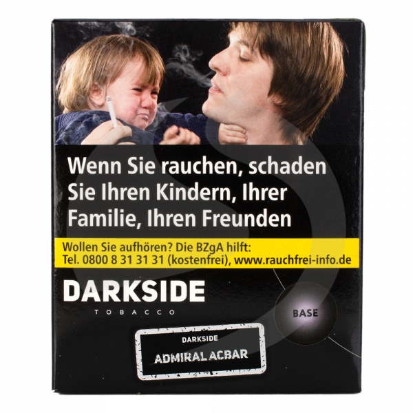 Darkside Tobacco Base 200g - Admiral Acbar