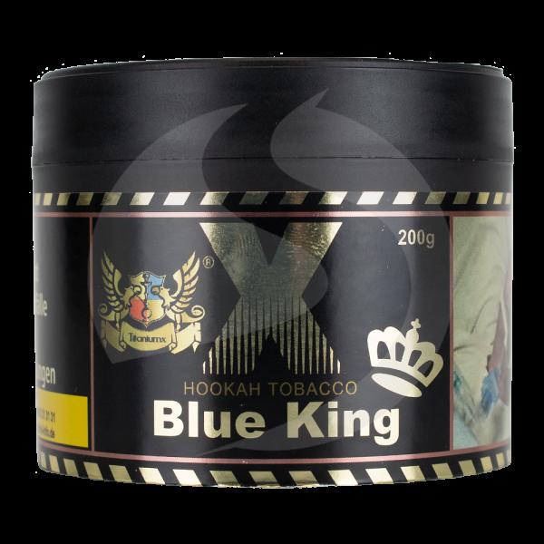 TitaniumX Hookah Tobacco 200g - Blue King