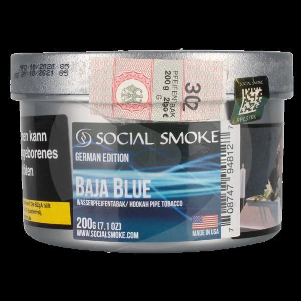 Social Smoke 200g - Baja Blue