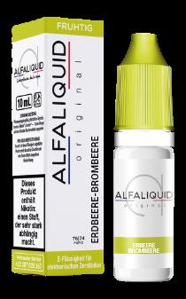 Alfaliquid 10ml 0mg Classic - Fraise Mure