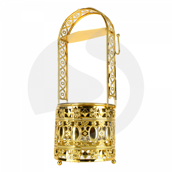 CRT Kohlebehälter Cha Klein - Gold