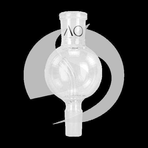 AO Glas Molassefänger 18/8 Kugel 60mm