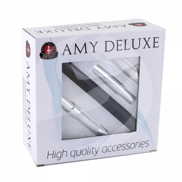 AMY Deluxe Alu. Mundstück in Box - Weiß