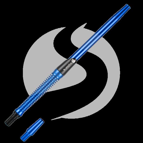 Cyborg Hookah Mundstück Metalic Spirale - Blue