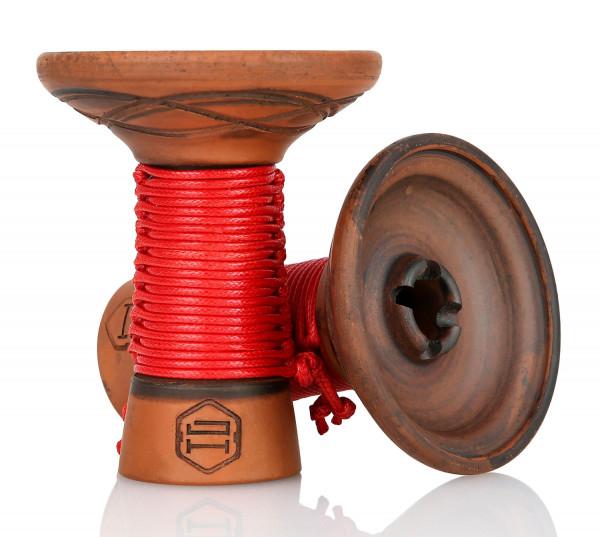 Japona Hookah Mummy Bowl - Red